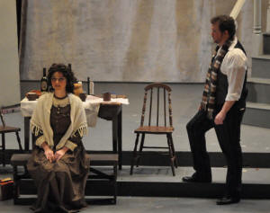 La Boheme, Act I - photo by George Schowerer
