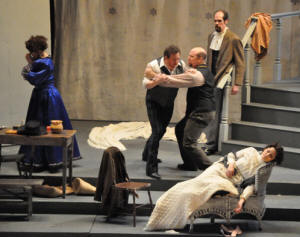 La Boheme, Act IV - photo by George Schowerer