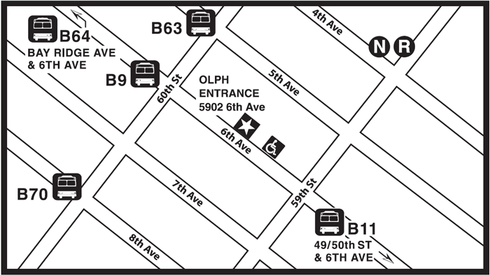 OLPH bus map